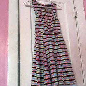 A multi colored dress